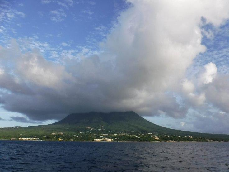 Mt. Nevis - inactive volcano